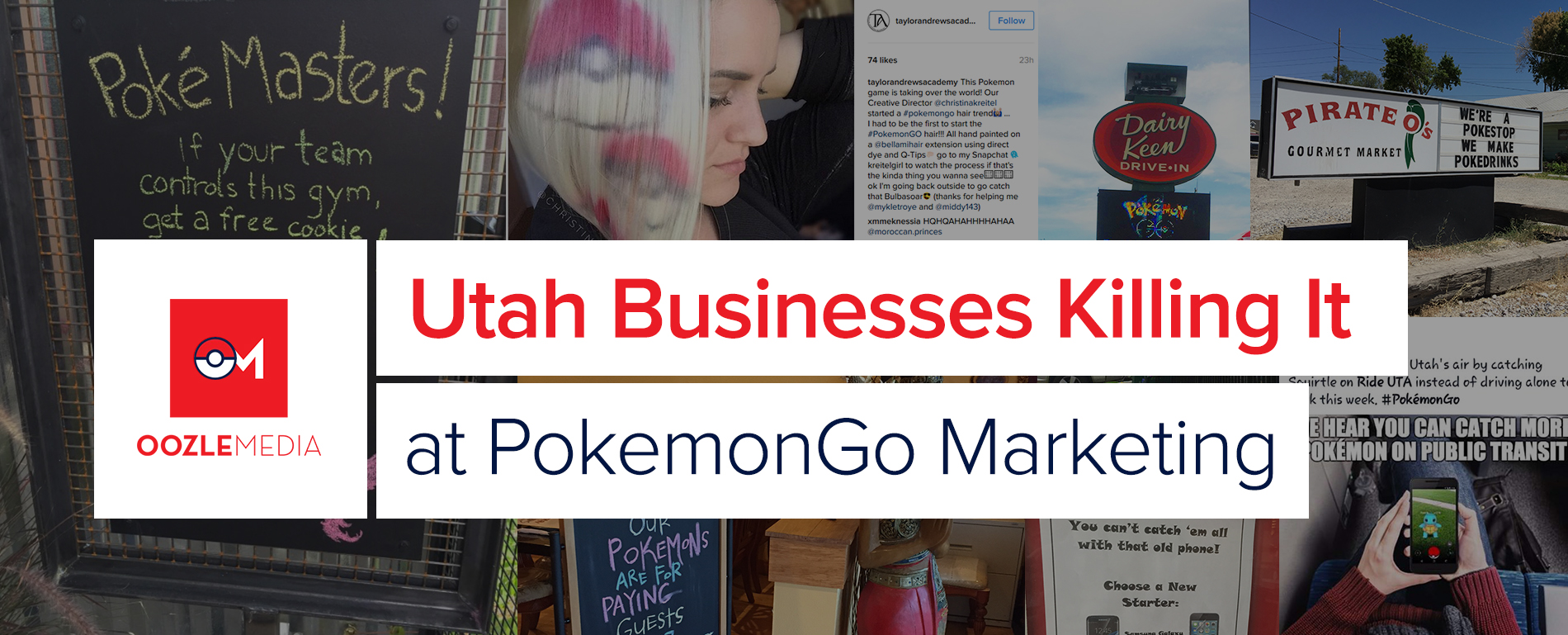 PokemonGo Marketing Oozle Media