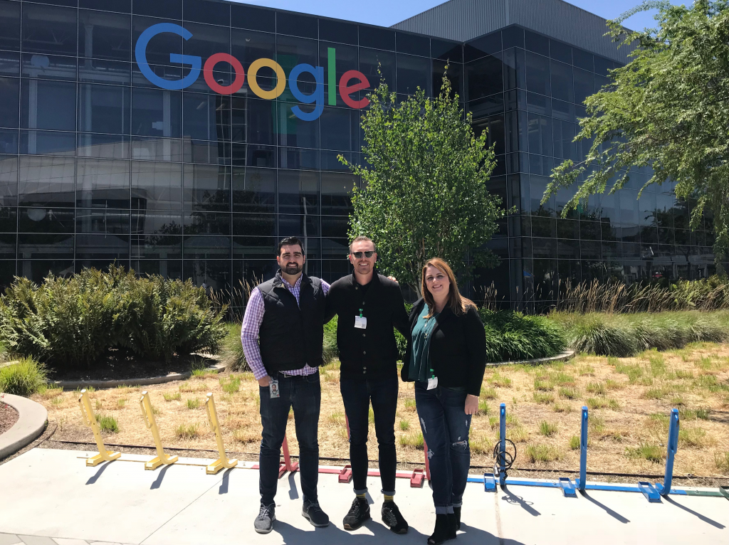 Oozle Media at Google HQ