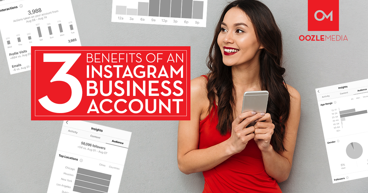 3 benefits of an instagram business account