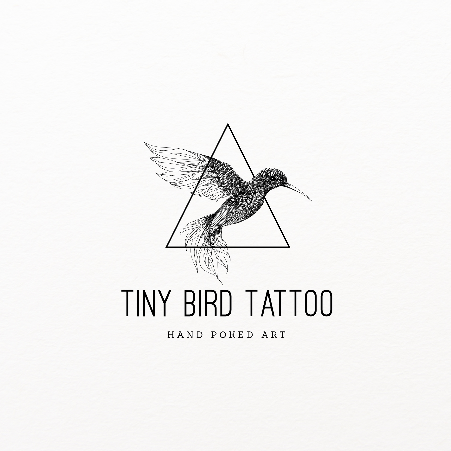logo design for Tiny bird tattoo