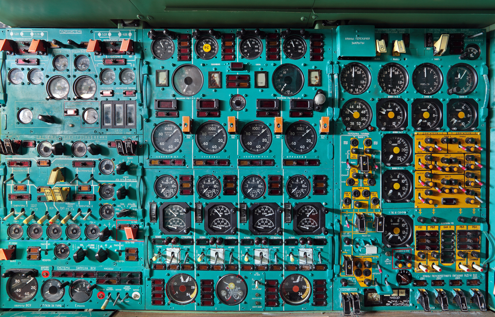 Picture of complicated switchboard