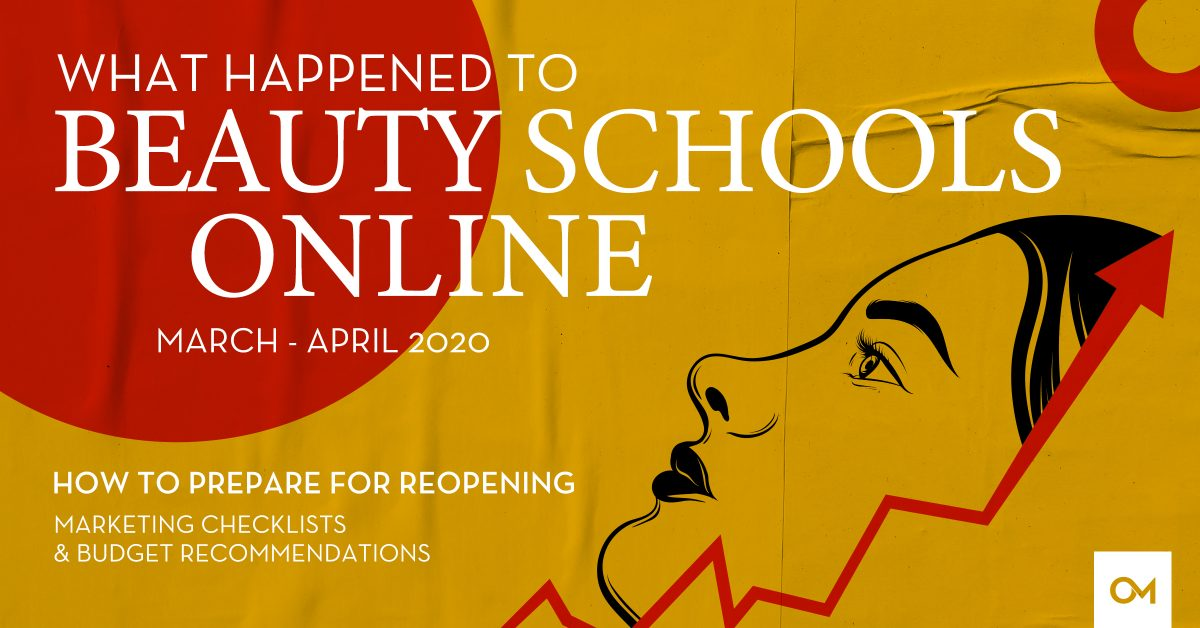 What happened to beauty schools online header