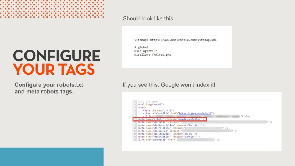 Example of how to configure your robots.txt file