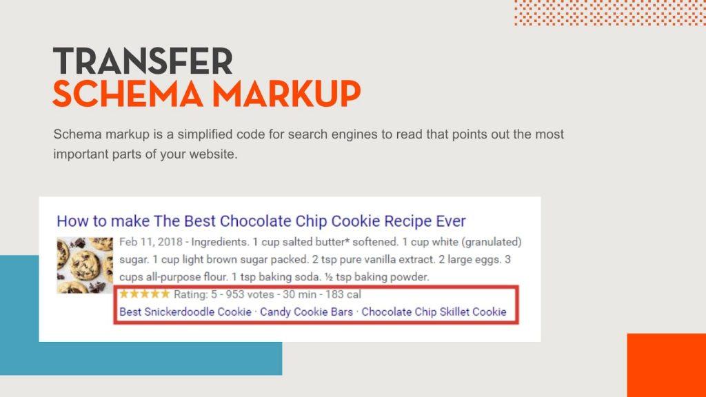 Example of schema markup