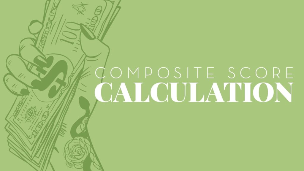 Composite score calculation