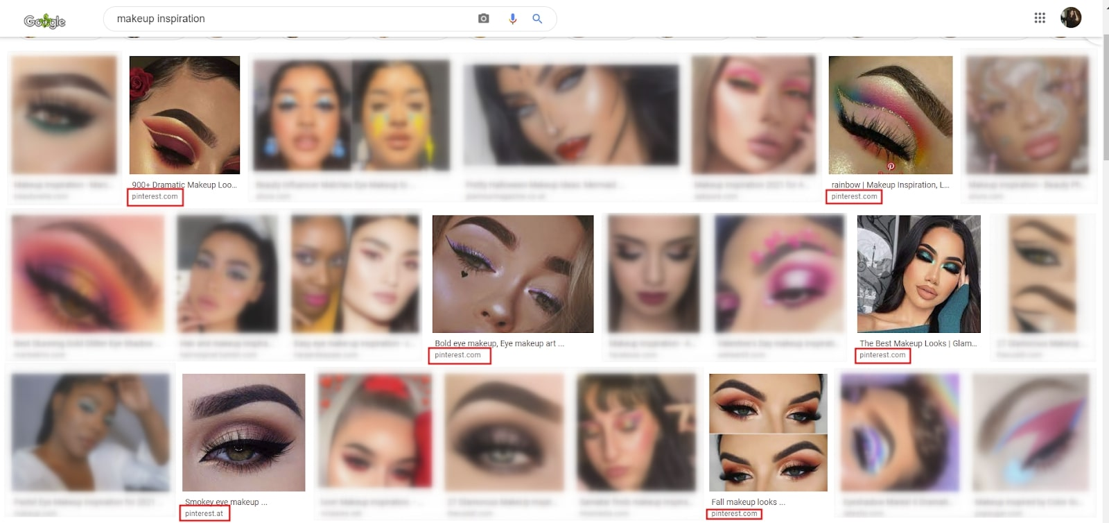 """Google Search Results for """"Makeup Inspiration"""""""