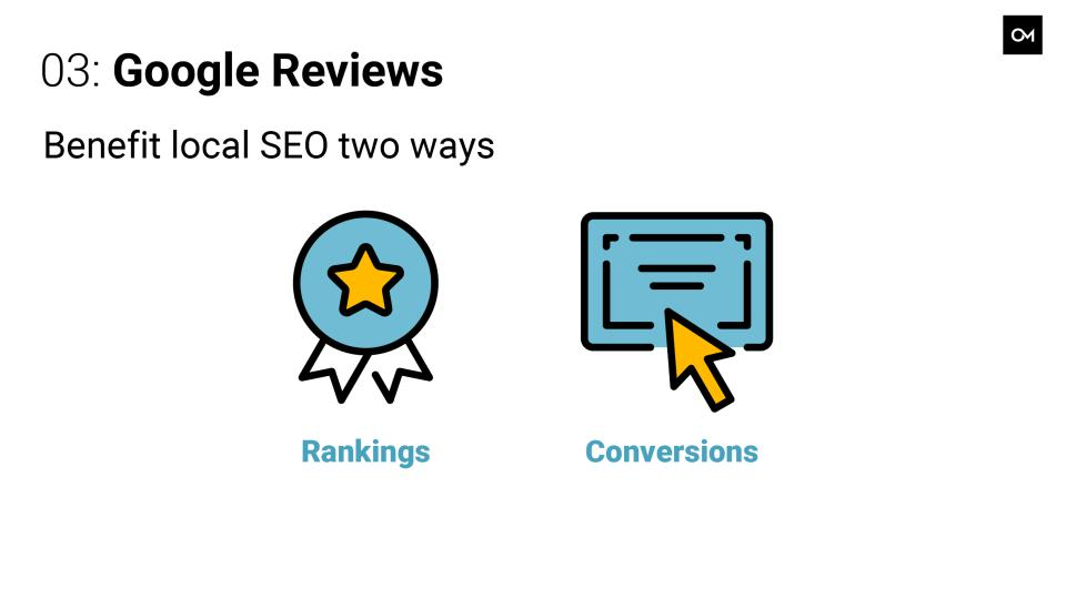 The benefits of Google reviews