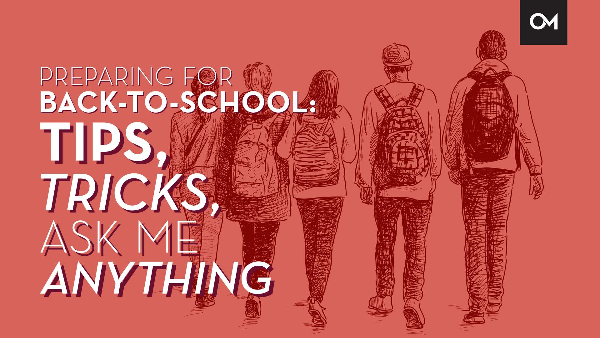 Back to school webinar